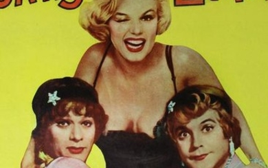 "Some Like it Hot (United Artists, 1959) US Insert 14"" x"