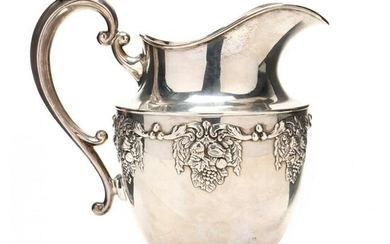 Sterling Silver Pitcher by Hunt Silver Co.