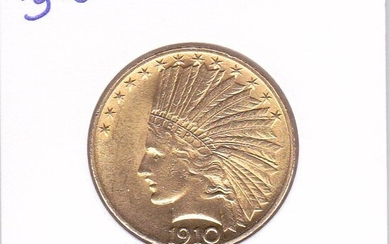 United States - 10 Dollars 1910 Indian Head - Gold