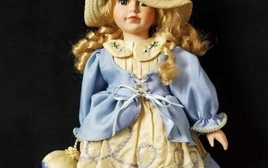 William Tung Porcelain Tuss Inc Collectible Doll