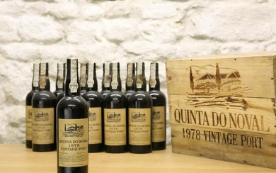 12 BOTTLES (in OWC) QUINTA DO NOVAL VINTAGE PORT 1978