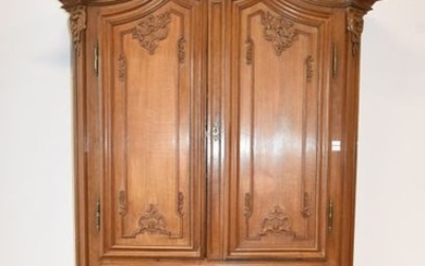 18th century Namur furniture in carved oak with...