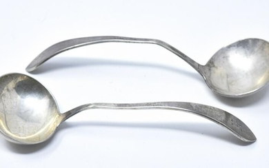 2 Sterling Silver Soup Spoons