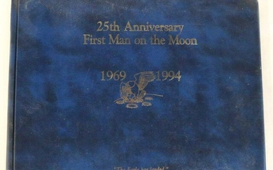 25TH ANNIVERSARY 1ST MAN ON THE MOON 1969-1994