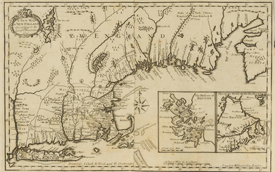 Americas.- Neal (Daniel) The History of New-England..., 2 vol., first edition, folding engraved map, for J.Clark...R.Ford...and R.Cruttenden, 1720.