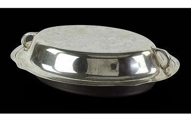 A Gorham Sterling Silver Covered Vegetable Dish.