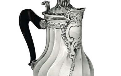 A silver pitcher, France (?), 18-1900s