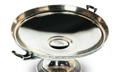 AMERICAN GORHAM STERLING COMPOTE.