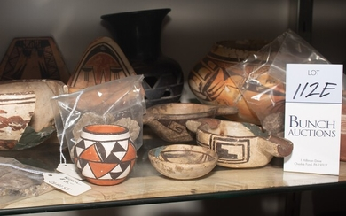 Acoma and Oaxacan Pottery Pieces