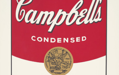 Andy Warhol, Green Pea, from Campbell's Soup I