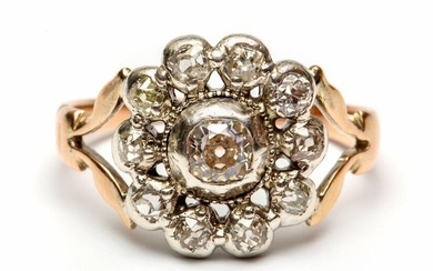 Below the legal amount of rose gold and...