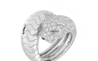 Cartier Diamond and 18K Ring