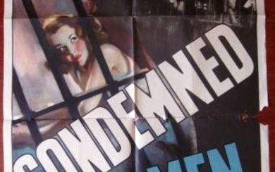 Condemned Women (1938) US 1 SH Movie Poster