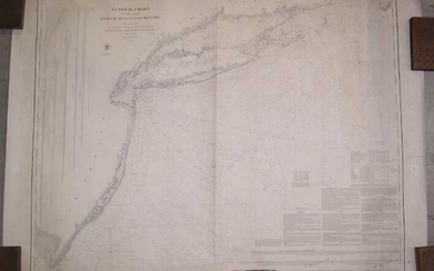 General Chart of the Coast from Cape Gay Head to Cape