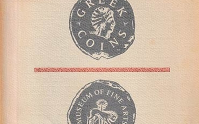 Greek Coins, 1950-1963 - Museum of Fine Arts, Boston. October...