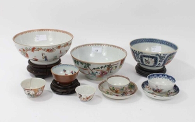 Group of 18th century Chinese porcelain