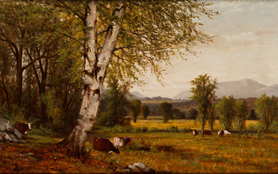 JOHN POPE A New England Landscape