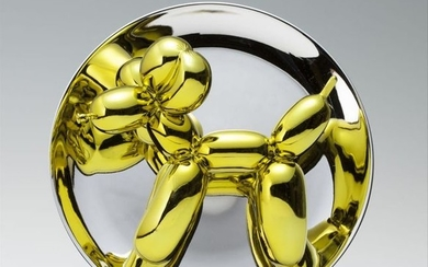 Jeff Koons, Balloon Dog (Yellow)