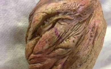 NOS-Latex Halloween Mask- Faceless 2 w/moving jaw.