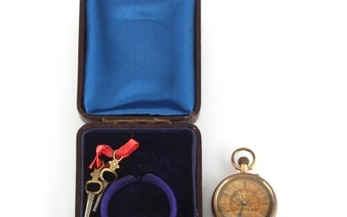 Property of a gentleman - an early 20th century 14ct gold ca...
