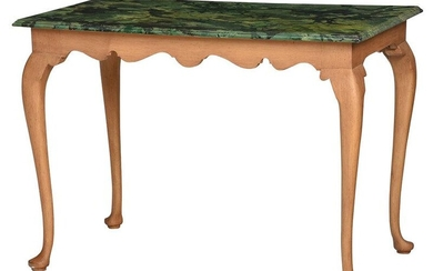Queen Anne Style Faux Painted Side Table
