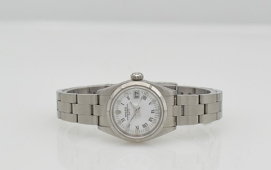 ROLEX Oyster Perpetual Date ladies wristwatch in...