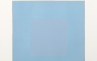 Richard Anuszkiewicz, Winter Suite (Light Blue with