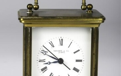 SWISS CARRIAGE CLOCK made for TIFFANY & CO LONDON