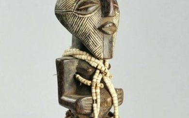 Superb SONGYE Kifwebe Power Figure Fetish Congo Drc