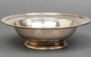 Tiffany & Co. Sterling Silver Pierced Footed Bowl