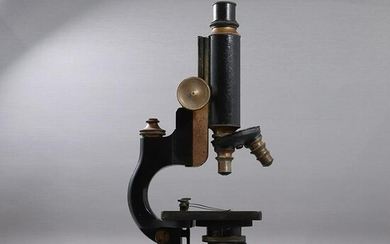Vintage Spencer Microscope Iron with Brass
