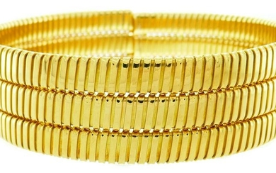 WEINGRILL Tubogas Yellow Gold NECKLACE Choker