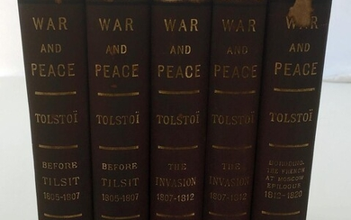 War and Peace: Before Tilsit, 1805-1807 Vol. I & II; The Invasion, 1807-1812 Vol I & II; Borodino, The French at Moscow, Epilogue, 1812-1820 Vol I