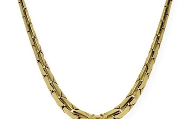 18 kt. Gold, Yellow gold - Necklace - 0.40 ct Diamond