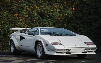 1983 Lamborghini Countach LP5000 S by Bertone