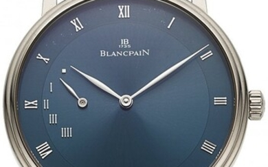 54013: Blancpain, Villeret Ultra Slim 4-Day Power Reser