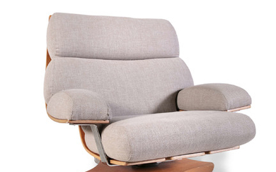 A Housemaster swivel chair, by...