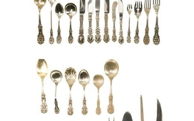 """A Reed & Barton """"Francis I"""" sterling silver flatware"""