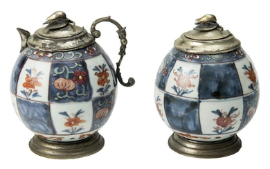 A pair of Antique Chinese covered Jar and Porcelain.