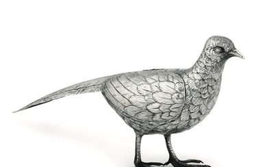 A silver pheasant, Italy (?), 1900s