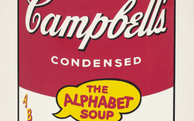Andy Warhol, Vegetarian Vegetable, from Campbell's Soup II