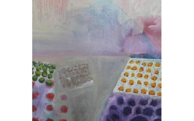 B. Stern, 20th Century oil on canvas, ' Fruit Stall ', signe...