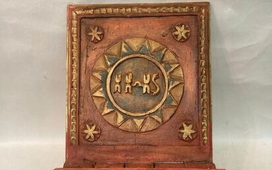 Bible or book holder in 19th century painted wood - Wood - 19th century
