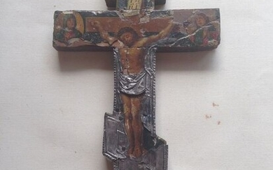 Crucifix, Icon - Wood - Early 19th century