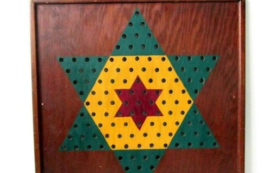 Early Chinese Checkers Gameboard