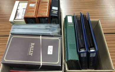 GB & WORLDWIDE MISCELLANY housed in two cartons containing s...