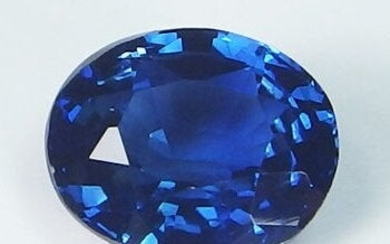 GIA Certified 1.79ct. Untreated Blue Sapphire SRI LANKA