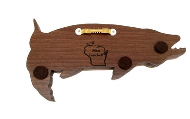 Handcrafted pike woodwork