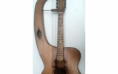 Inc - Harpe-guitare italienne , médaille d'or des arts et sciences à Rome en 1925 - Harp guitar - Italy - 1925