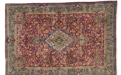 KIRMAN LAVER Hand-knotted and hand-worked carpet,